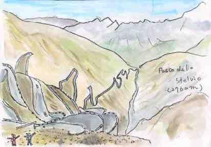 Stilfser Joch / Passo dello Stelvio ステルヴィオ峠