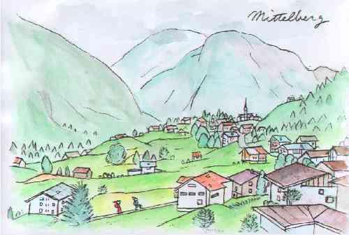 Mittelbergミッテルベルグ村