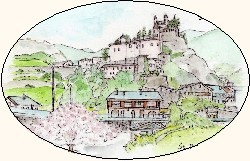 旅の絵本:aosta-st-pierreアオスタ、サン・ピエール