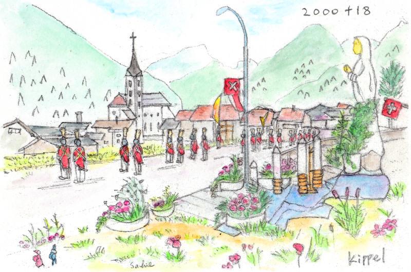 Swiss-Valais-Lotschental:Kippel