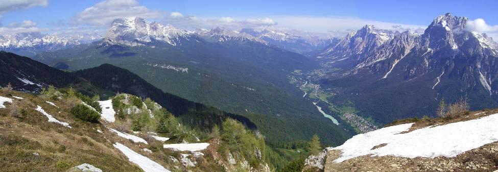 ドロミテ:モンテ・リーテ山Mont...